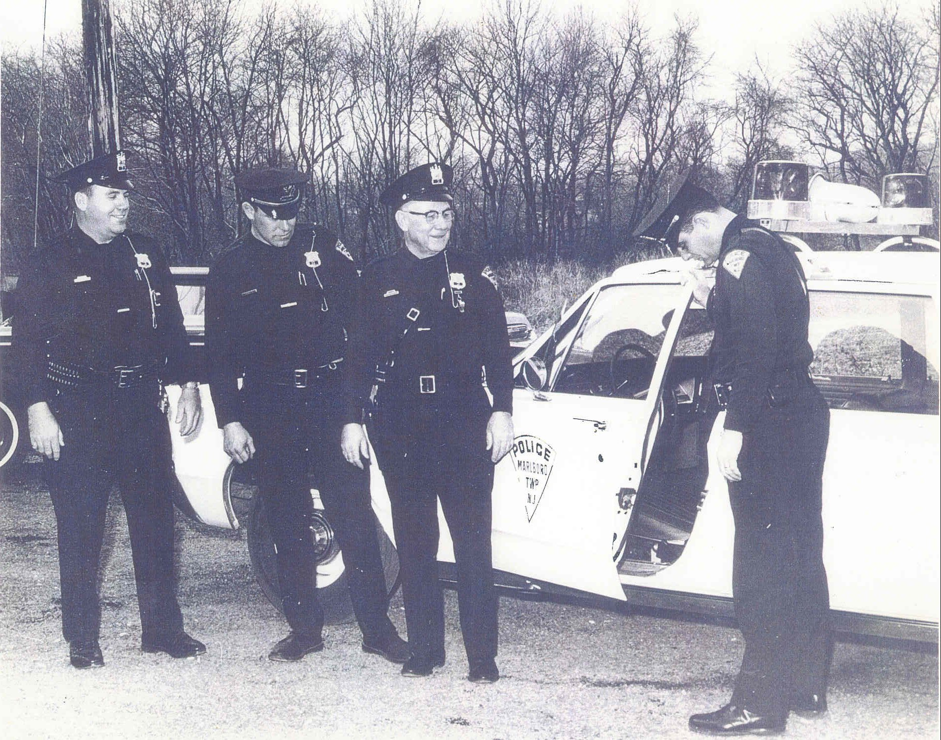 In the Beginning...February 1 1968 Marlboro's first full time Officers.